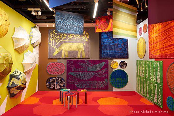 鈴木マサルのテキスタイル展 目に見えるもの、すべて色柄 / 福岡